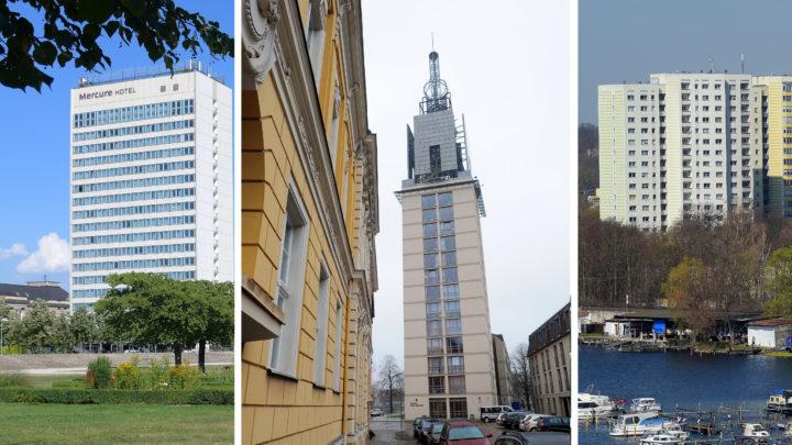 Wie hoch sind die Hochhäuser in Potsdams Zentrum?